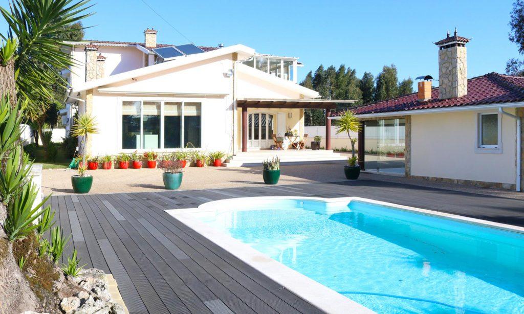 moradia com piscina em aveiro azurva para venda